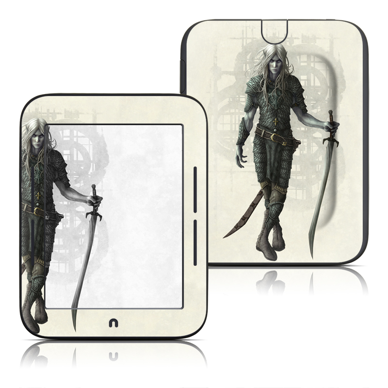 Dark Elf Barnes & Noble NOOK Simple Touch Skin