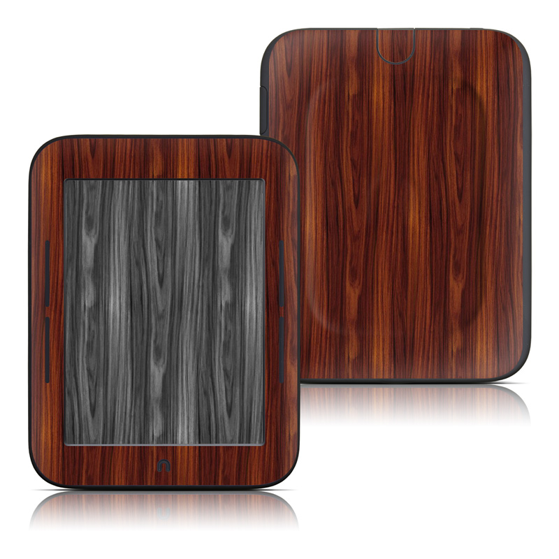 Dark Rosewood Barnes & Noble NOOK Simple Touch Skin