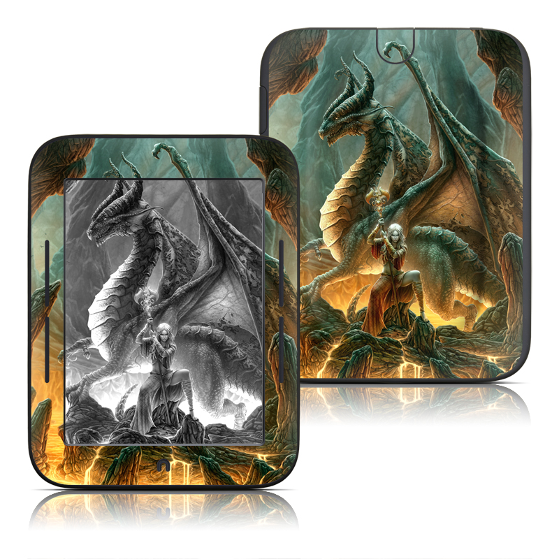 Dragon Mage Barnes & Noble NOOK Simple Touch Skin