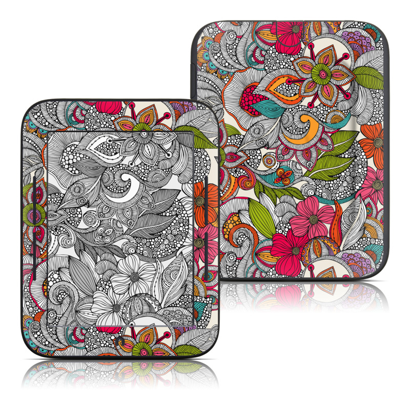 Doodles Color Barnes & Noble NOOK Simple Touch Skin