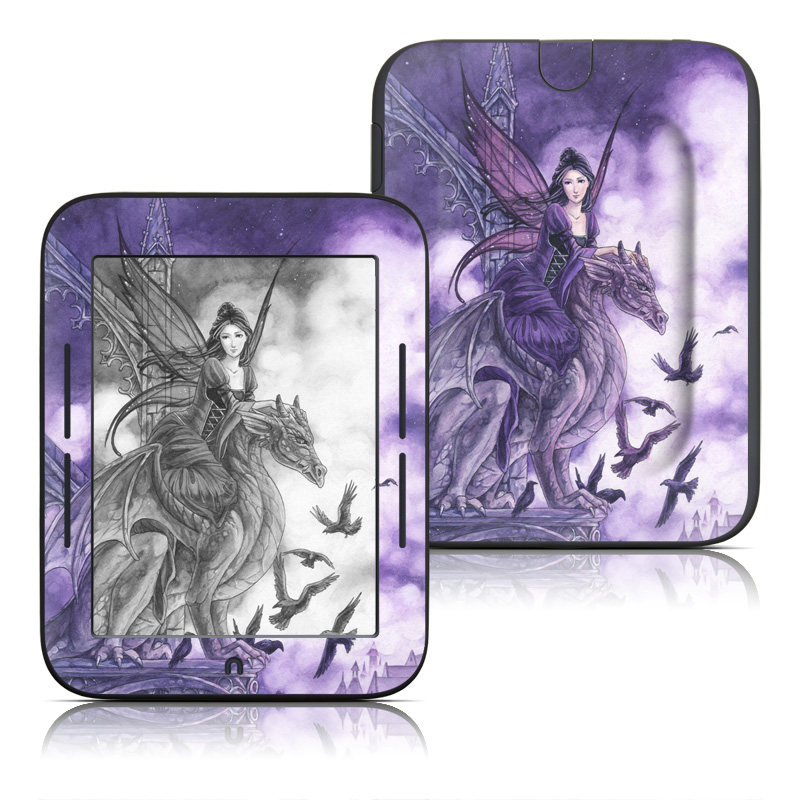 Dragon Sentinel Barnes & Noble NOOK Simple Touch Skin