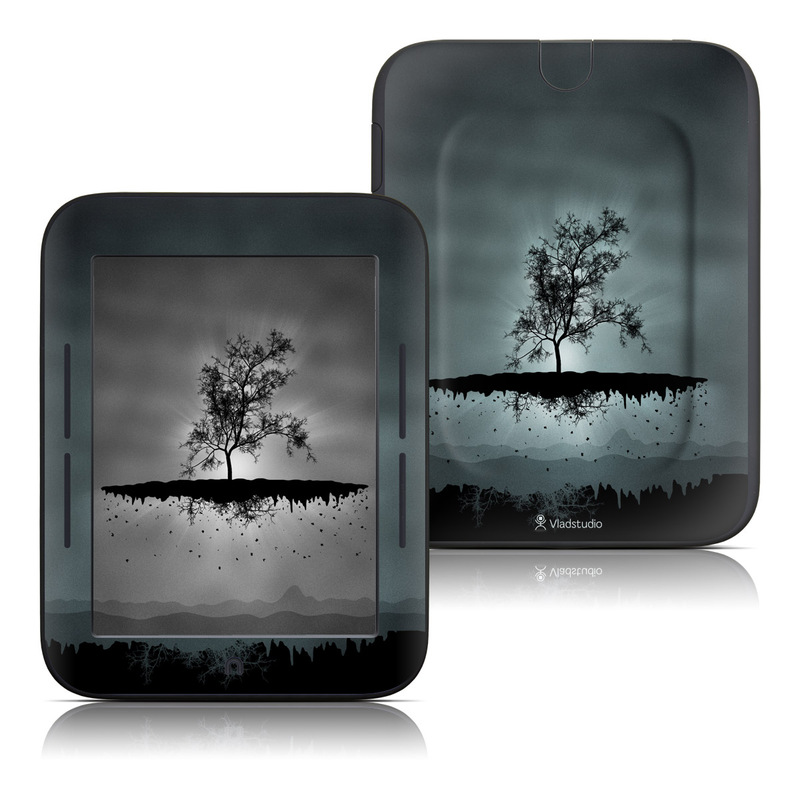 Flying Tree Black Barnes & Noble NOOK Simple Touch Skin