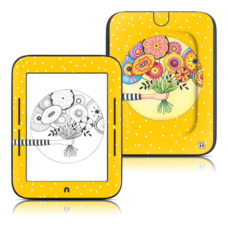 Giving Barnes & Noble NOOK Simple Touch Skin