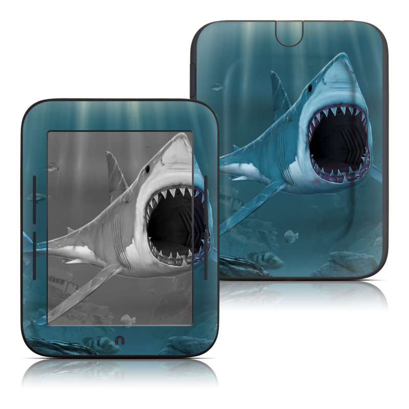 Great White Barnes & Noble NOOK Simple Touch Skin