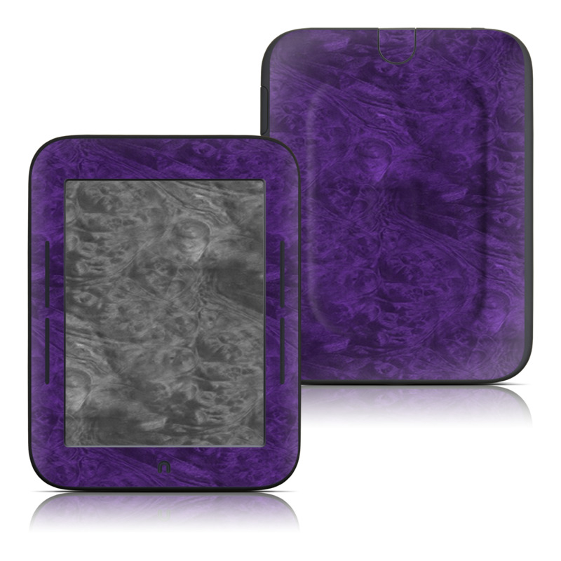 Purple Lacquer Barnes & Noble NOOK Simple Touch Skin