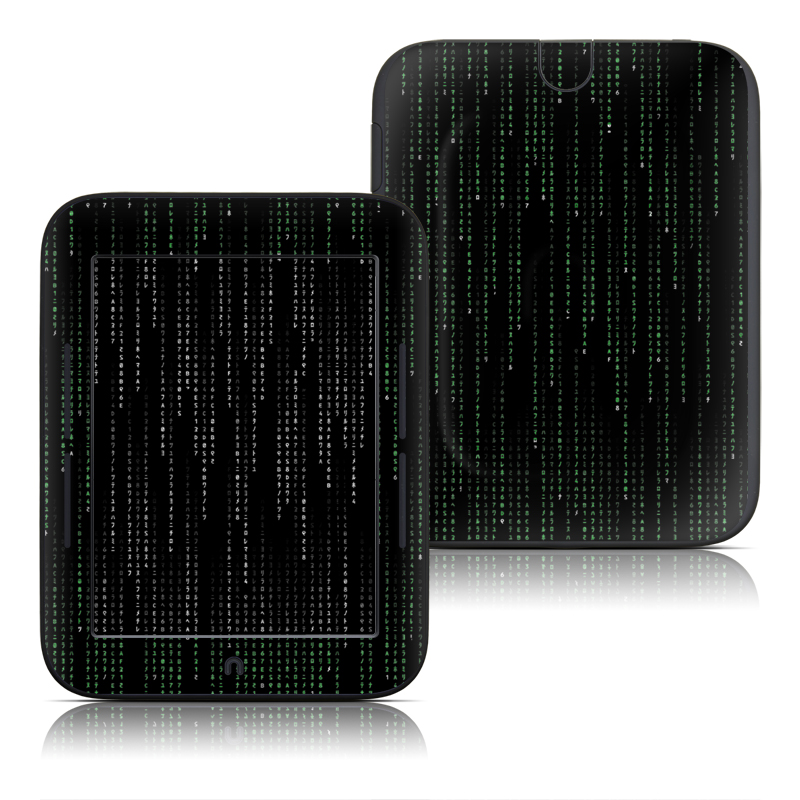 Matrix Style Code Barnes & Noble NOOK Simple Touch Skin