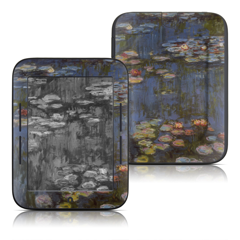 Water lilies Barnes & Noble NOOK Simple Touch Skin