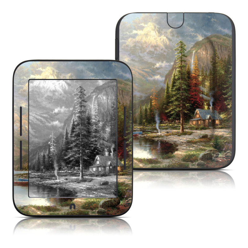 Mountain Majesty Barnes u0026 Noble NOOK Simple Touch Skin