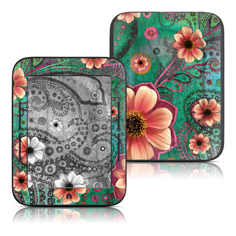 Paisley Paradise Barnes & Noble NOOK Simple Touch Skin