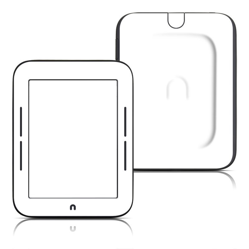 Solid State White Barnes & Noble NOOK Simple Touch Skin