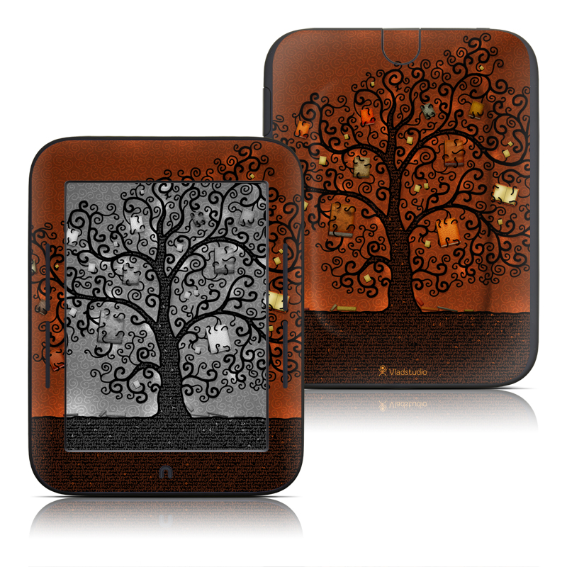 Tree Of Books Barnes & Noble NOOK Simple Touch Skin
