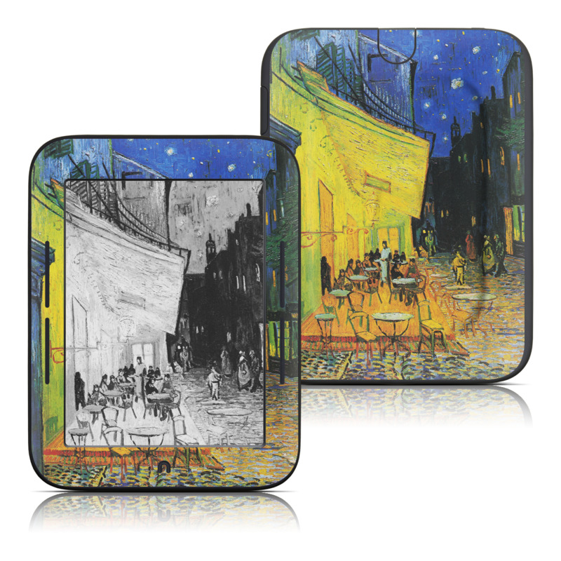 Cafe Terrace At Night Barnes & Noble NOOK Simple Touch Skin