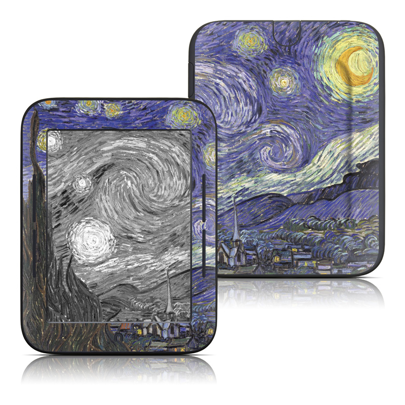 Starry Night Barnes & Noble NOOK Simple Touch Skin