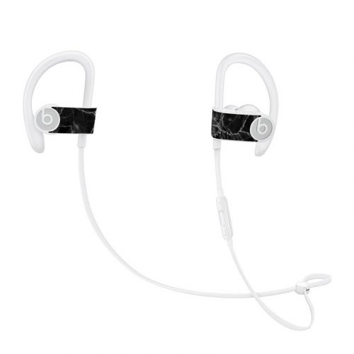 Black Marble Beats Powerbeats3 Skin