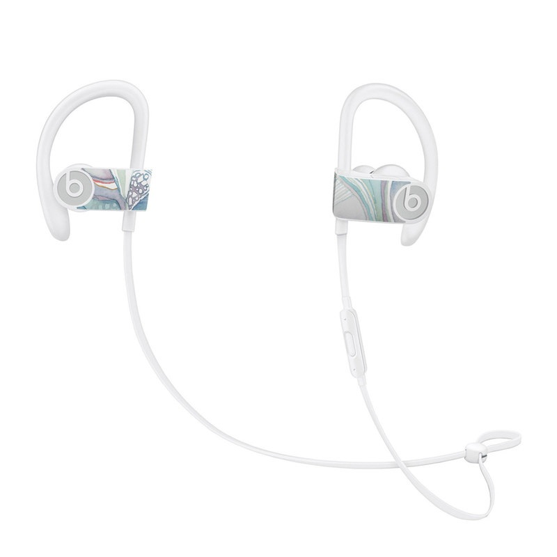 Abstract Organic Beats Powerbeats3 Skin