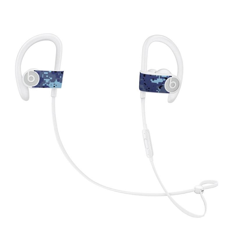 Digital Sky Camo Beats Powerbeats3 Skin