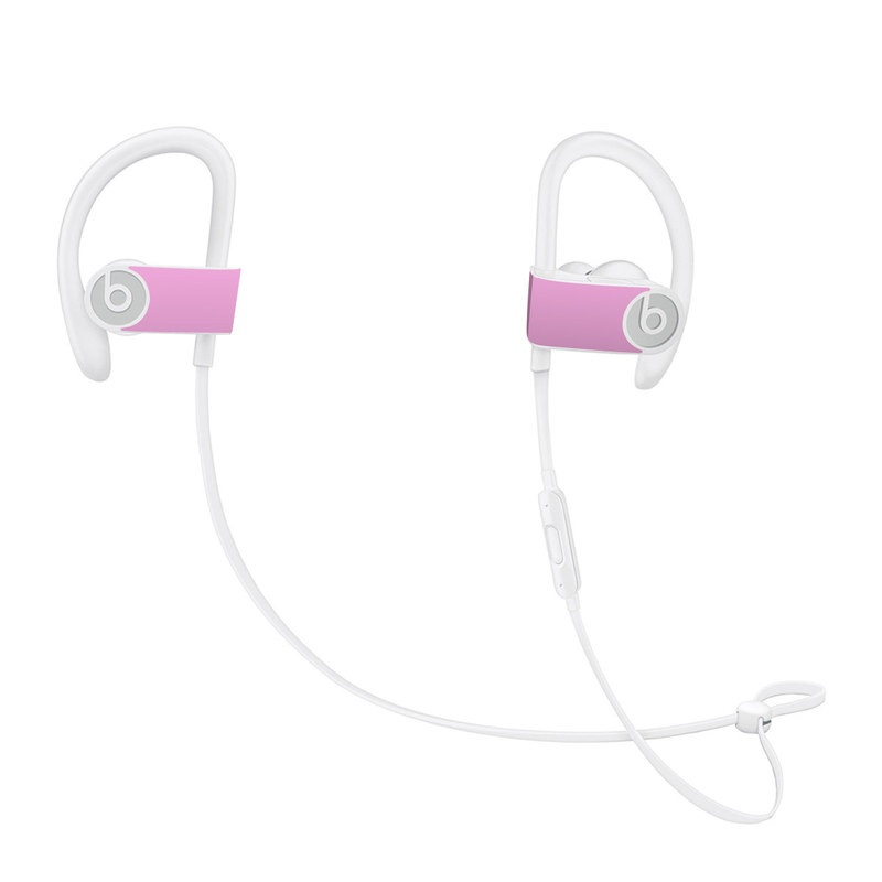 684fe0c3550 Beats Powerbeats3 Skin design of Pink, Violet, Purple, Red, Magenta, Lilac