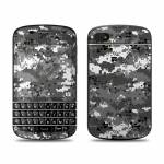 Digital Urban Camo BlackBerry Q10 Skin