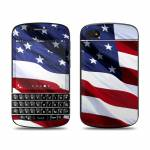 Patriotic BlackBerry Q10 Skin
