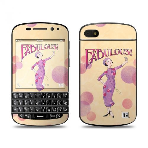 Fabulous BlackBerry Q10 Skin