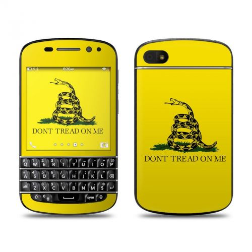 Gadsden Flag BlackBerry Q10 Skin