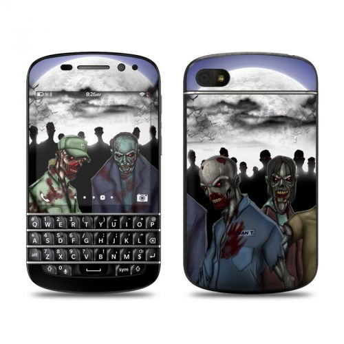 Undead BlackBerry Q10 Skin