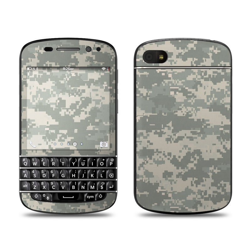 BlackBerry Q10 Skin design of Military camouflage, Green, Pattern, Uniform, Camouflage, Design, Wallpaper with gray, green colors