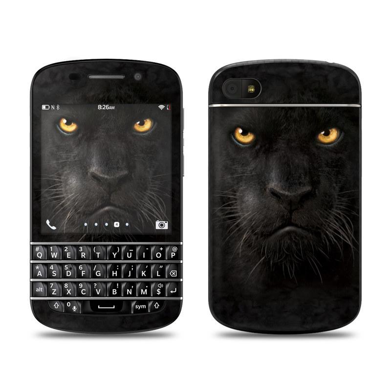 Black Panther BlackBerry Q10 Skin