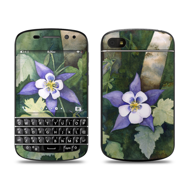 Colorado Columbines BlackBerry Q10 Skin