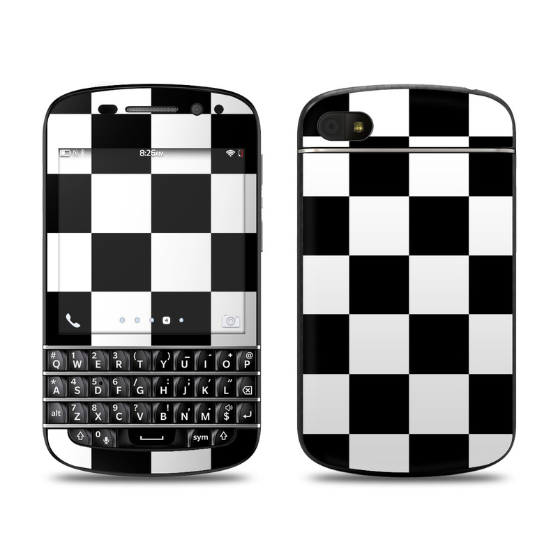 Checkers BlackBerry Q10 Skin