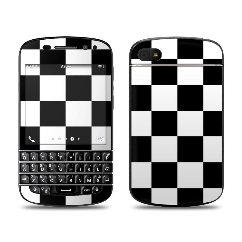 Checkers BlackBerry Q10 Skin