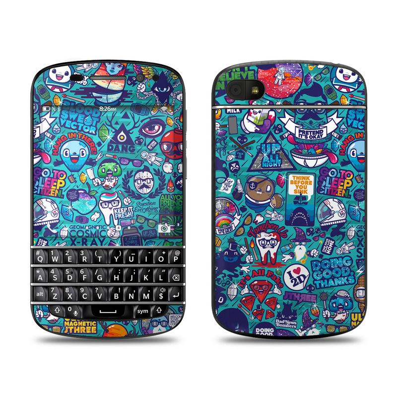 Cosmic Ray BlackBerry Q10 Skin
