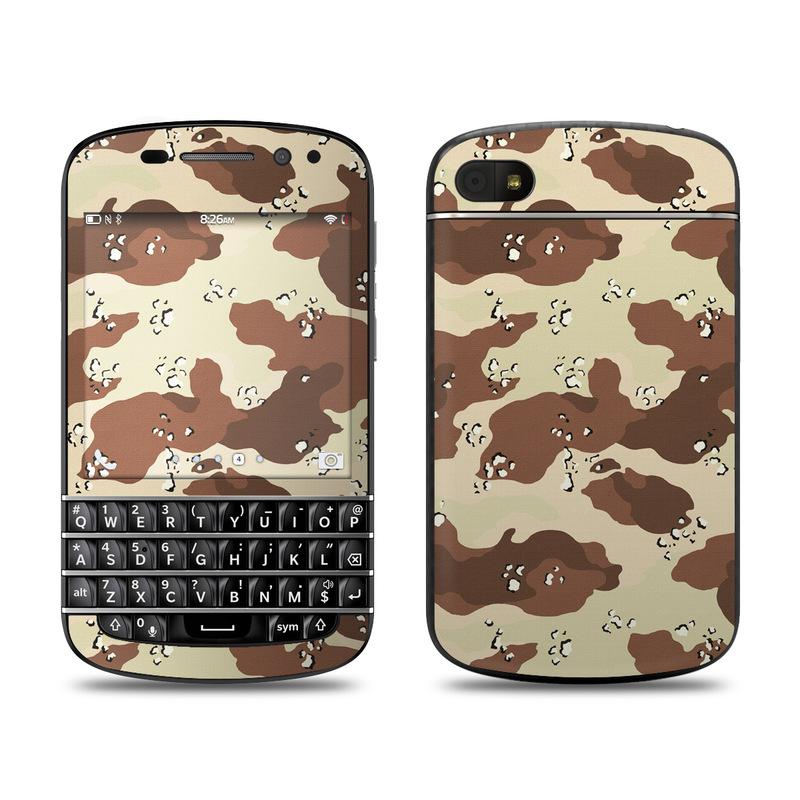 Desert Camo BlackBerry Q10 Skin