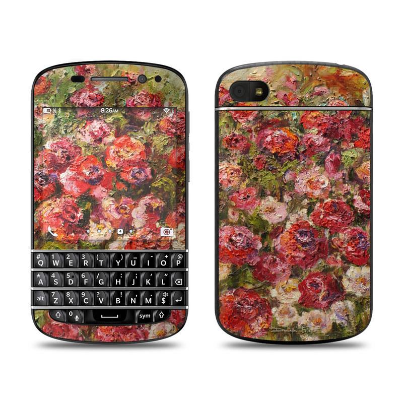 Fleurs Sauvages BlackBerry Q10 Skin