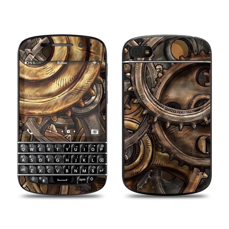 Gears BlackBerry Q10 Skin