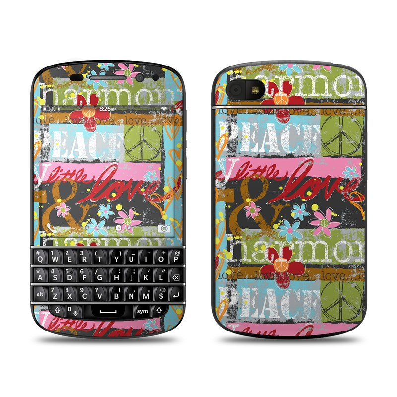Harmony and Love BlackBerry Q10 Skin