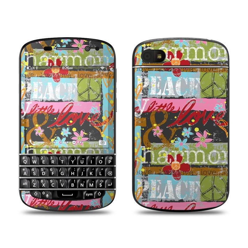 Harmony and Love BlackBerry Q10 Skin