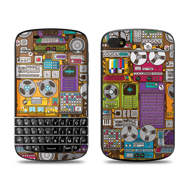 In My Pocket BlackBerry Q10 Skin