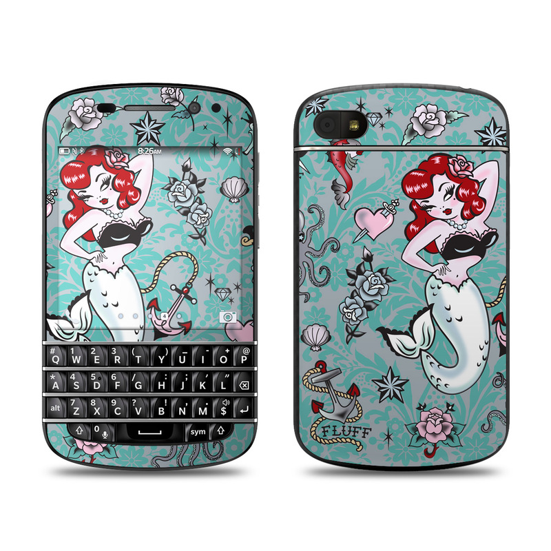 Molly Mermaid BlackBerry Q10 Skin