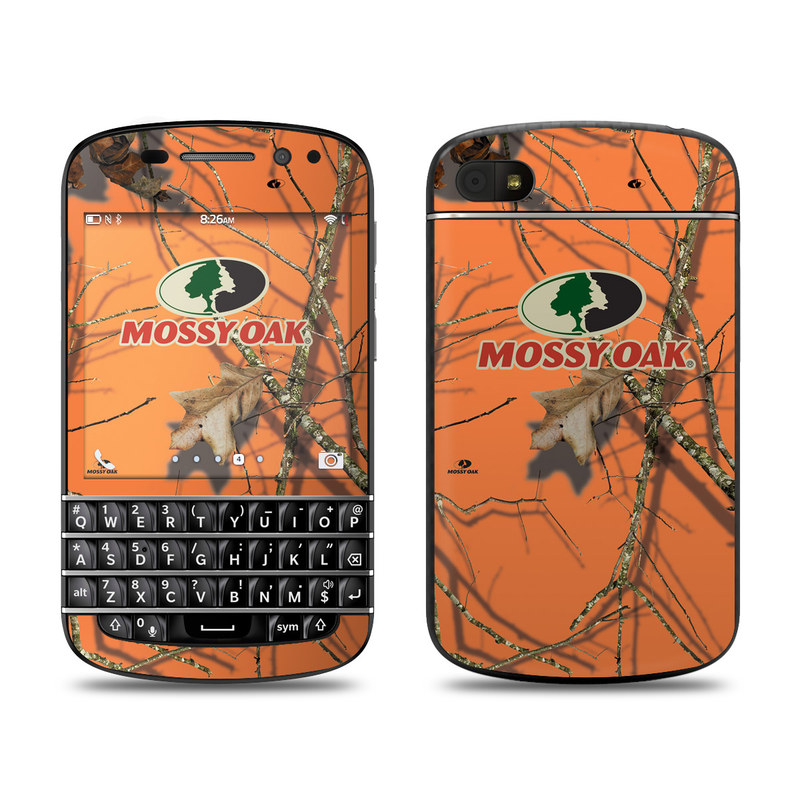 BlackBerry Q10 Skin design of Tree, Botany, Branch, Root, Plant, Illustration, Adaptation, Art, Graphic design, Drawing with orange, green, red, black, gray colors