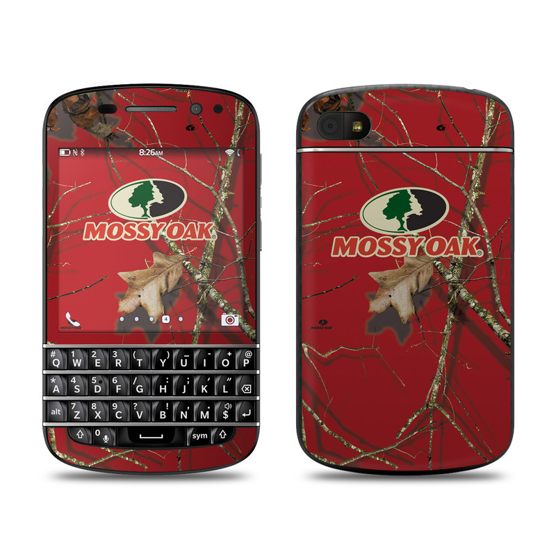 Break Up Lifestyles Red Oak BlackBerry Q10 Skin