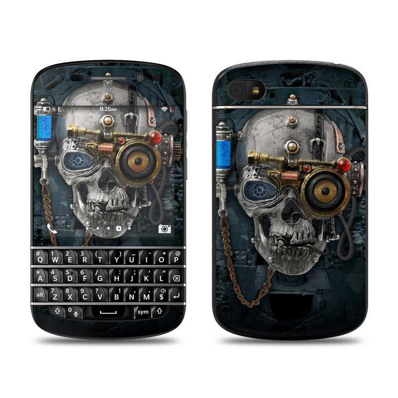 Necronaut BlackBerry Q10 Skin