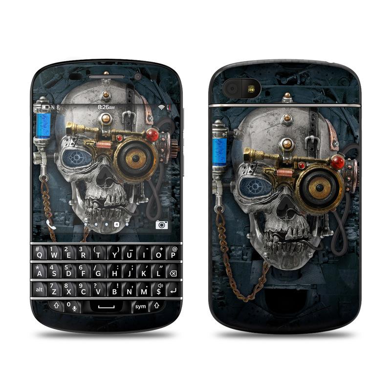 Necronaut BlackBerry Q10 Skin