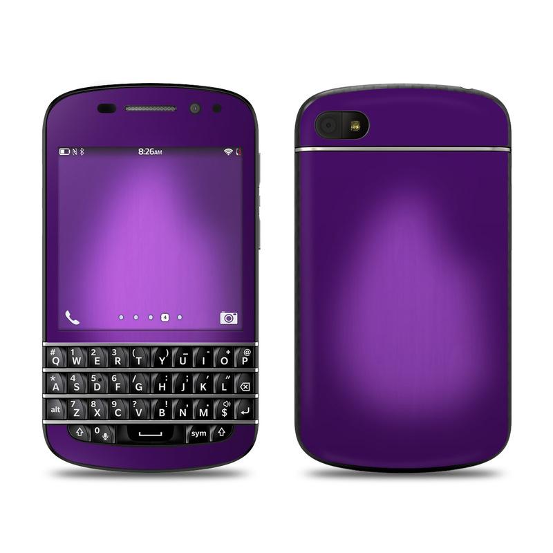 BlackBerry Q10 Skin design of Violet, Purple, Lilac, Pink, Magenta, Wallpaper with black, purple, blue colors