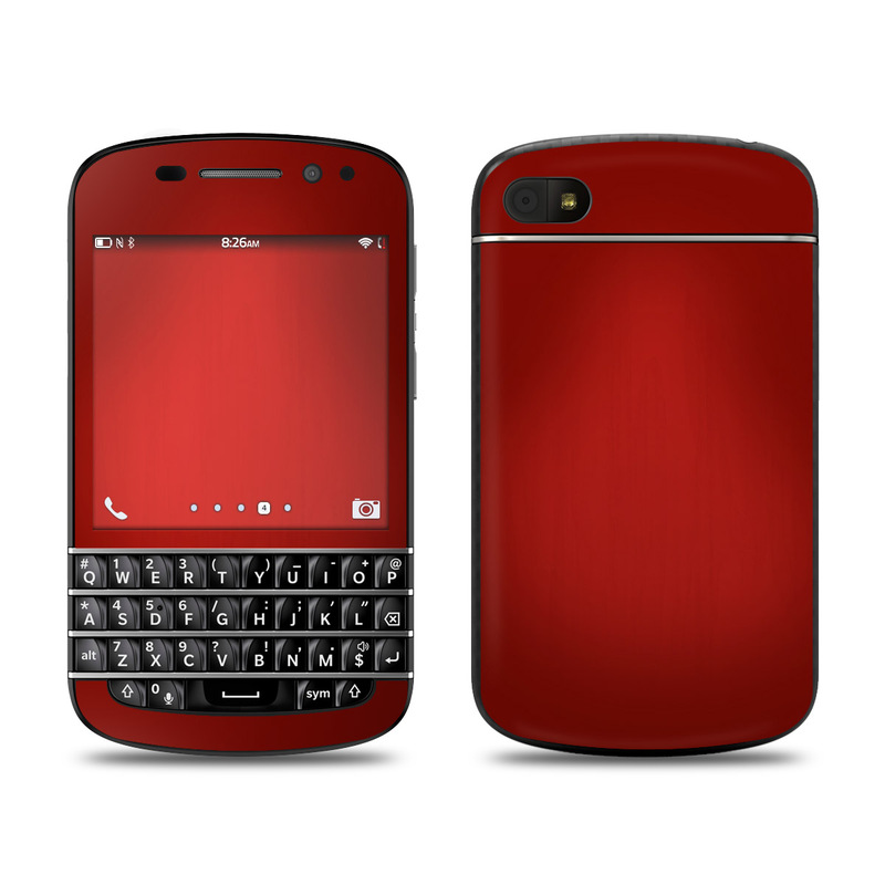 BlackBerry Q10 Skin design of Red, Maroon, Orange, Brown, Peach, Pattern, Magenta with red colors