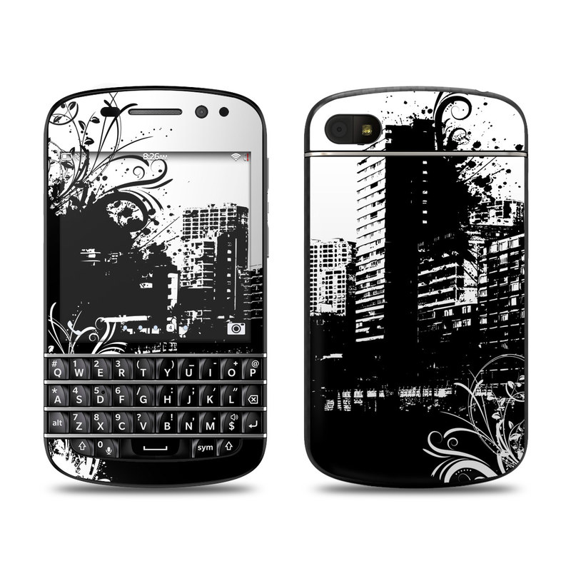Rock This Town BlackBerry Q10 Skin