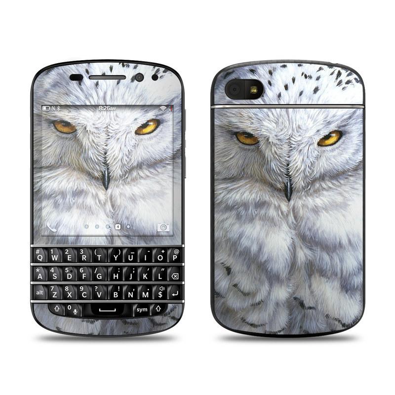 Snowy Owl BlackBerry Q10 Skin