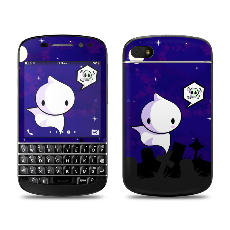 Spectre BlackBerry Q10 Skin