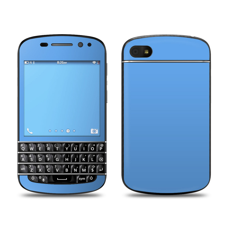 BlackBerry Q10 Skin design of Sky, Blue, Daytime, Aqua, Cobalt blue, Atmosphere, Azure, Turquoise, Electric blue, Calm with blue colors