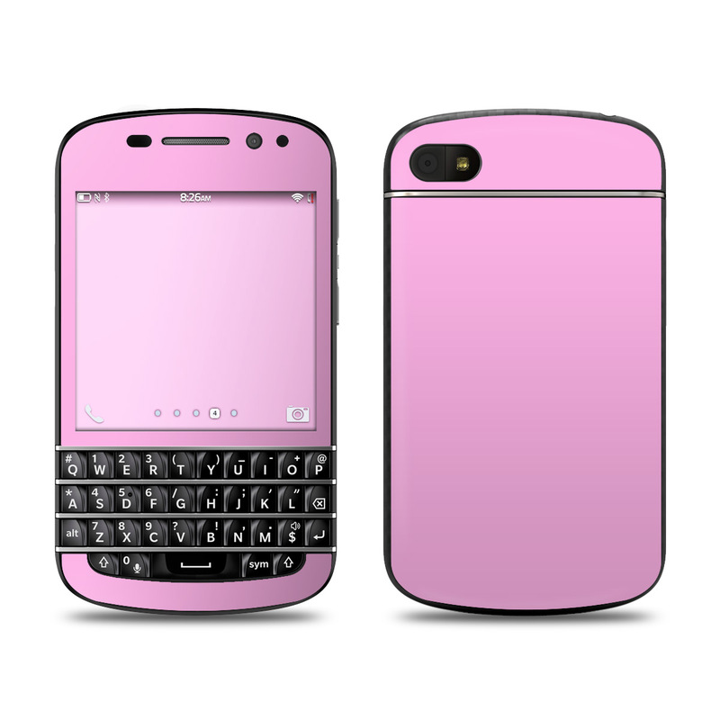 Solid State Pink Blackberry Q10 Skin Istyles